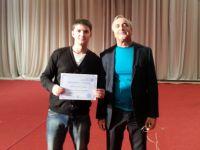 Иван Расторгуев с учителем Ковалевым