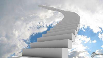 2048x1152 Лестница в небо